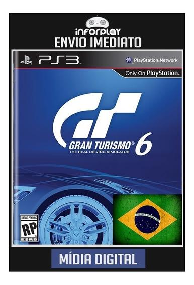 Gran Turismo 6 Português Ps3 Psn Envio Imediato