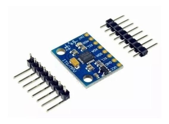Sensor Acelerômetro Giroscópio 3 Eixos Mpu-6050 Arduino