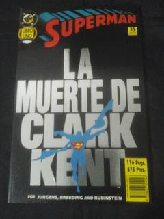 La Muerte De Clark Kent - Tomo 1 (zinco)
