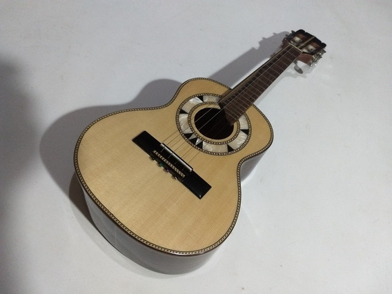 Cavaco Carlinhos Luthier N2 Imbuia/abeto Novo Com Garantia