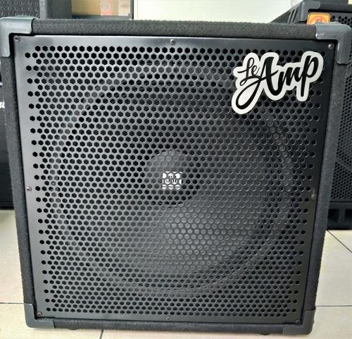 Imagem 1 de 3 de Caixa Para Contra Baixo Le Amp Simone 115 Com 325 Watts