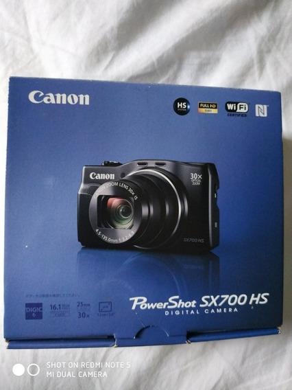 Camera Digital Canon Sx700 Hs Original Do Japão. Completa.