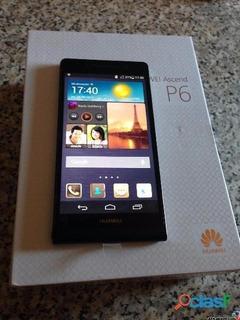 Huawei P6 Negro Para Movilnet