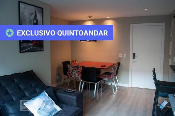 Apartamento No 2º Andar Com 2 Dormitórios E 2 Garagens - Id: 892968139 - 268139