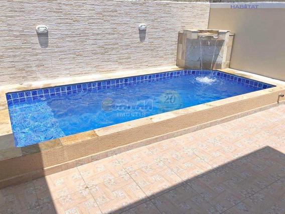 Casa Em Itanhaém, Com Piscina . - V6871