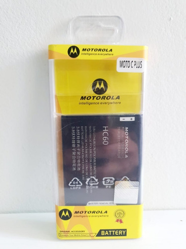 Batería / Pila Moto C Plus Blister Hc60