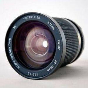 Lente Objetiva Sony Minolta Md Vivitar 28-105mm F/3.5-4.5 Mf