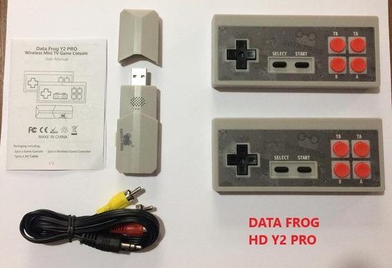 Video Game Retro Data Frog Nintendo 8 Bits Wireless Hd Rca