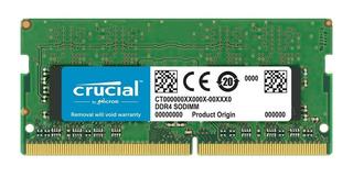 Memoria Laptop Sodimm 16gb Ddr4 Cl17 2400mhz Crucial Envíos