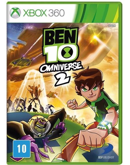 Jogo Ben 10 Omniverse 2 Xbox 360 Novo Lacrado Frete Grátis