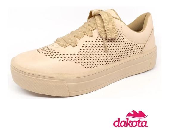 Tênis Dakota Casual Confortável Cor Taliba Aveia G0451
