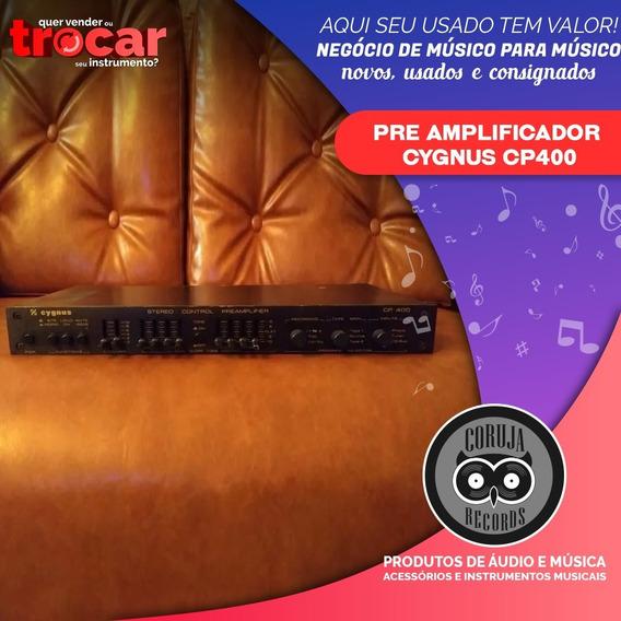 Pre Amplificador Cygnus Cp400 Cp 400 Em Perfeito Estado