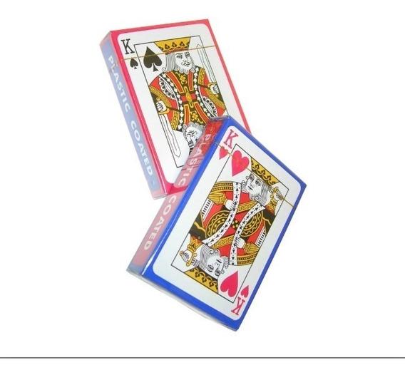 Kit C/10 Jogo Baralho 54 Cartas Poker Magica Truco Cacheta