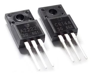 Transistores A2222 + C6144 - 2sa2222 2sc6144 De Impresora