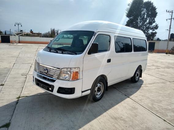 Nissan Urvan Toldo Alto 2.4