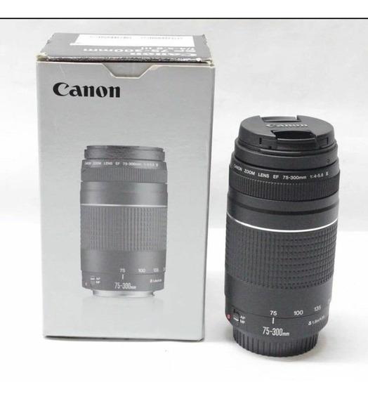 Lente Canon Ef 75-300 F/4-5.6 Iii Usm