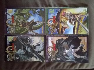 Coleção Mangá Monster Hunter Completo Vol. 1 Ao 4