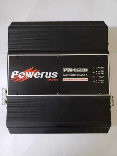 Amplificador Powerus 1.600
