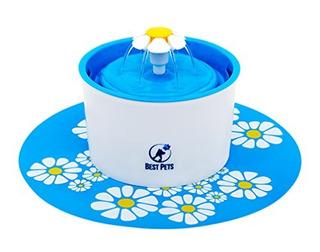 Fuente Agua Mascotas Portable Dispensador Eléctrico Tazón Ga