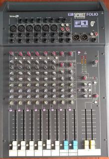 Consola De Sonido Profesional Spirit Folio F1 14/2 Inglesa