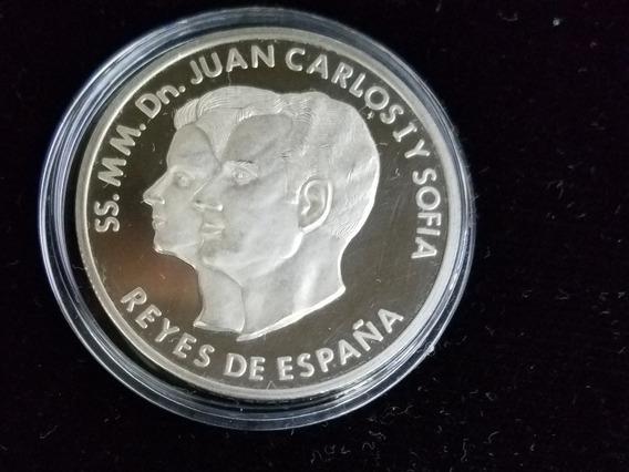 Medalla De Plata Reyes De España Juan Carlos Y Sofía 1978