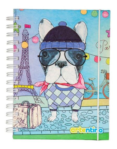 Cuaderno Anillado Infantil A5 Rayado Tapa Dura Escolar Niños