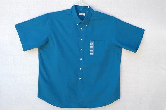 Camisa Manga Corta Xxl. Camisa De Hombre Xxl. Cavington