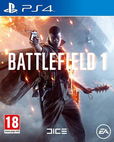 Battlefield 1 Ps4 100% Em Português