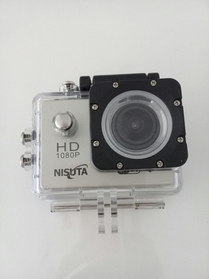 Sport Camera Nisuta Sumergible, Con Accesorios / Impecable!!