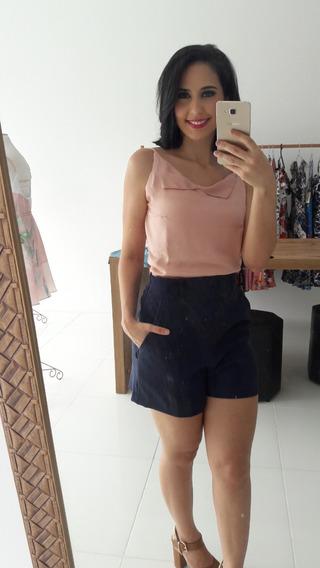 Roupas Femininas Short Cintura Alta Blusa Alcinha 2019