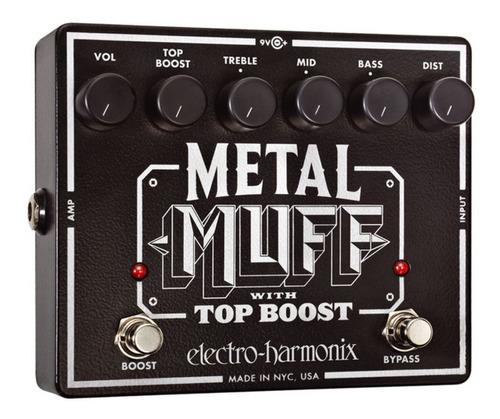 Pedal Electro Harmonix  Metal Muff Top Bost