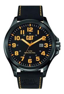Reloj Cat Caterpillar Operator Malla Cuero Agente Oficial