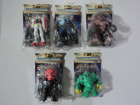 Mobile Suit Gundam Lote De 5 Figuras Banpresto 1998 Serie 6