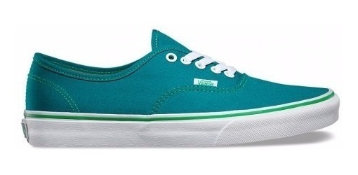 Zapatillas Vans Mod Authentic Verde Petroleo! Ultimos Pares