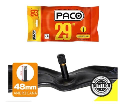 Camara De Ar Aro 29 Bicicleta 29x1.95/2.125 Bico Grosso