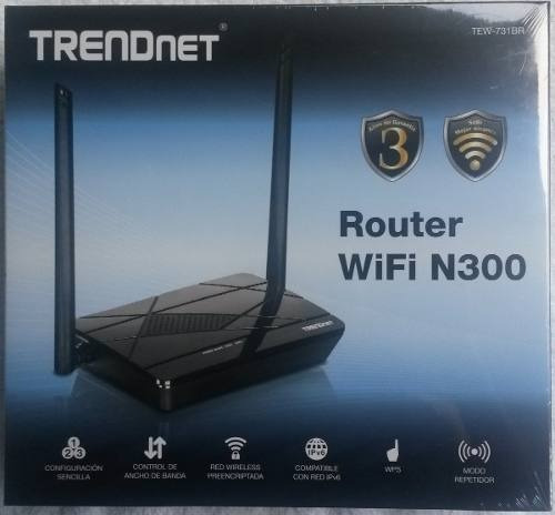 Router Wireless Trendnet Tew-731br Wifi N300 Mbps