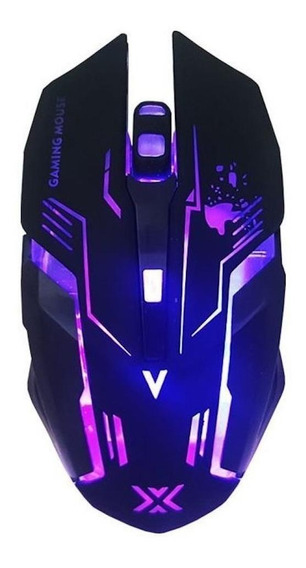 Mouse para jogo Infokit GM-600 X-Soldado preto