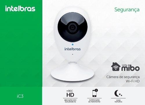 Câmera Ic3 Mibo Intelbras