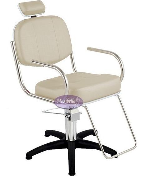 Cadeira Cabeleireiro Maquiagem Hidráulica Slim Pop