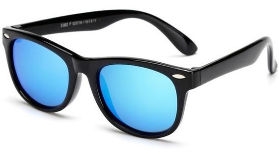 Óculos De Sol Infantil Flexível Polarizado Criança Unisex