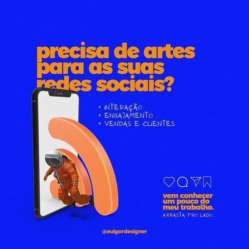 Serviços De Designer Gráfico E Social Media.