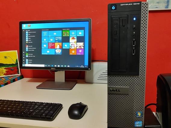 Dell Completo Com Teclado E Mouse S/fio Computador De Mesa