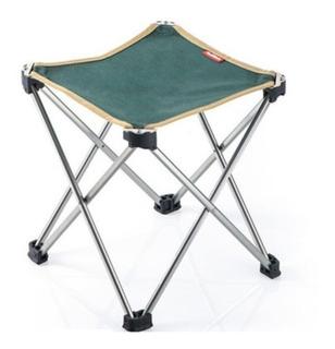 Banco Plegable Ultraligero Naturehike Aluminio Camping Playa