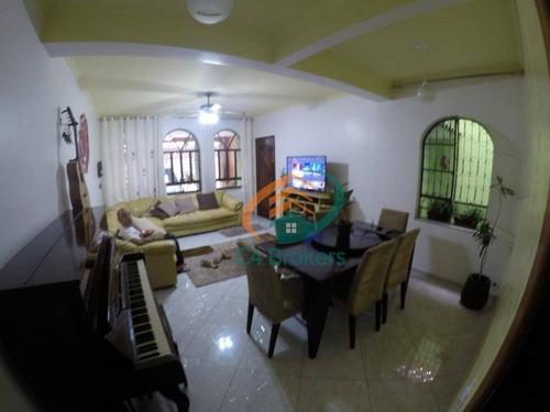 Imagem 1 de 24 de Sobrado Com 4 Dormitórios À Venda, 225 M² Por R$ 750.000,00 - Jardim Vila Galvão - Guarulhos/sp - So0171