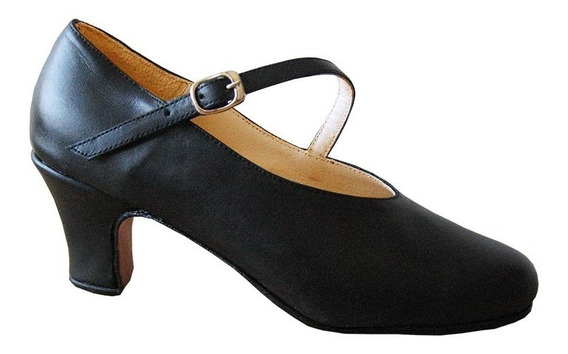 Zapato Español Profesional - Folklore - Danza - Cuero