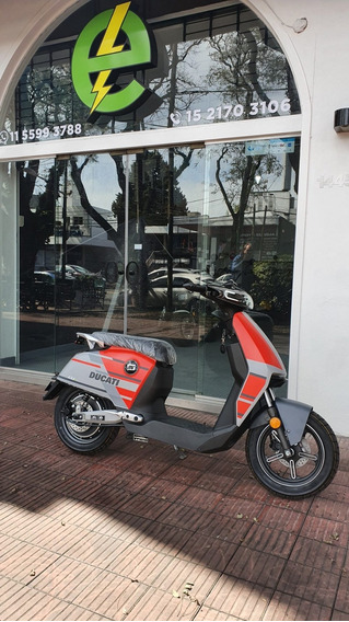 Moto Electrica Super Soco Cux Ducati Edition