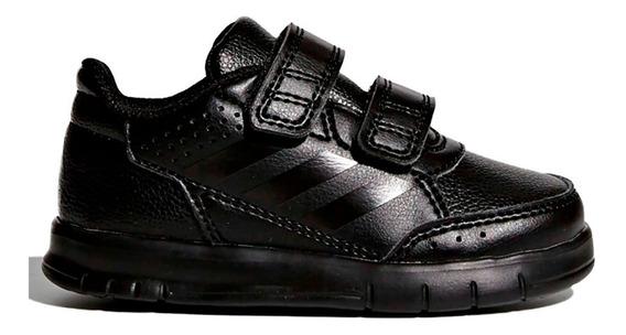 Tenis adidas Altasport Cf Kids Negro Escolar Velcro - Regalo