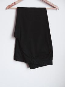 Calça Comprida Masculina Preta Corte Reto - Zara Man