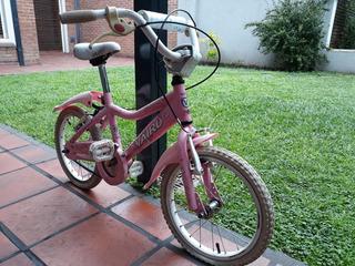 Bicicleta De Paseo Nena Vairo Rodado 16