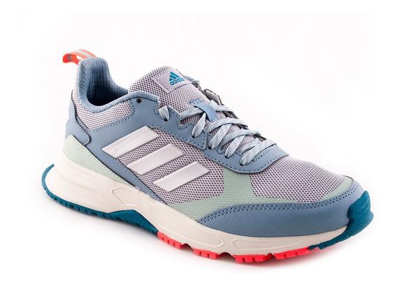 Zapatilla adidas Rockadia Trail 3.0 Celeste Mujer